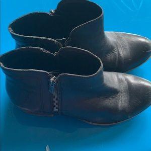 Lucky brand black booties